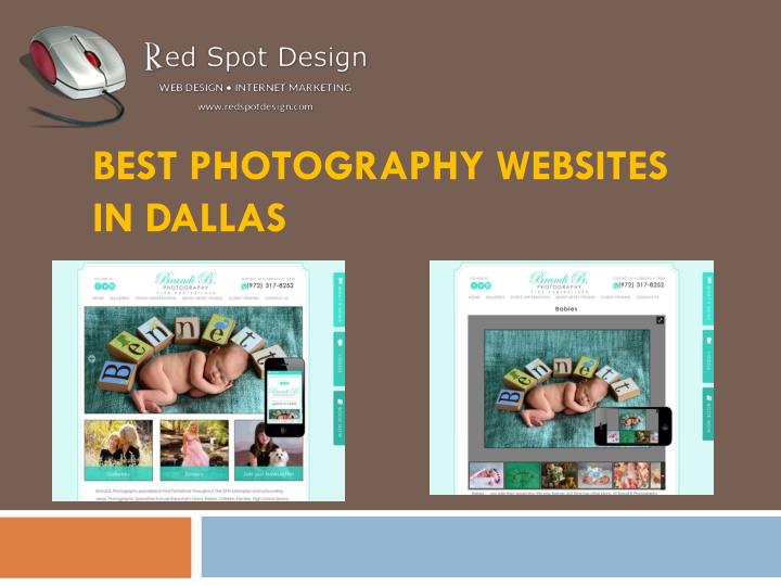 best photography websites in dallas n.