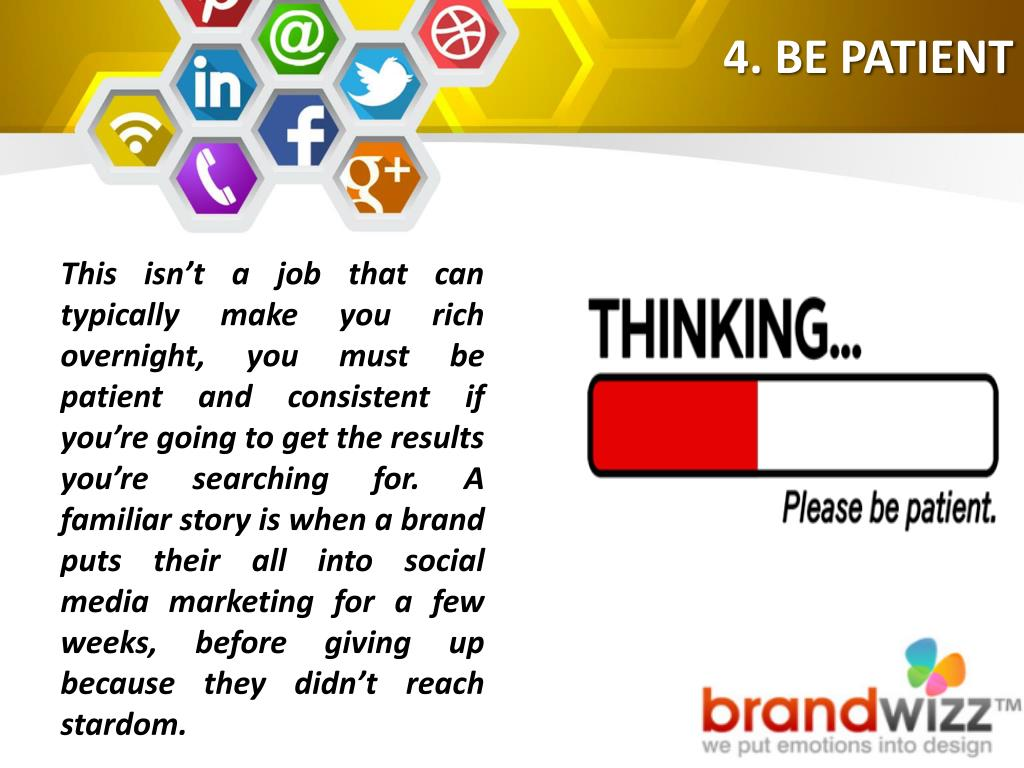 Why We Must Be Patient When Searching >> Ppt Socio Funda 10 Laws Of Social Media Marketing Powerpoint
