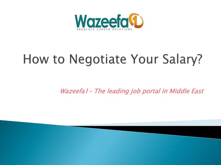 how to negotiate your salary n.