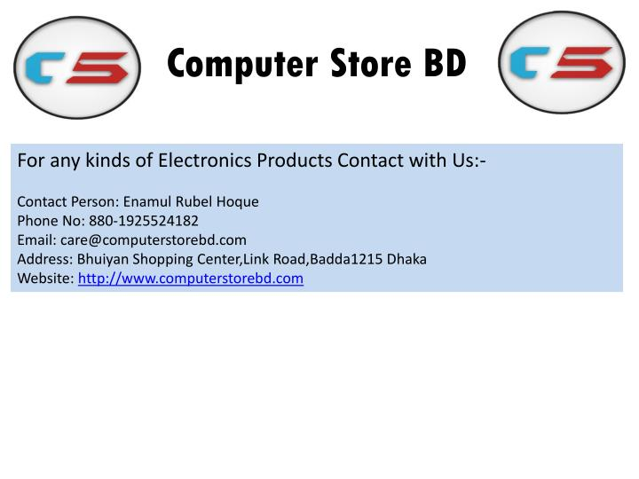 Computer Store BD