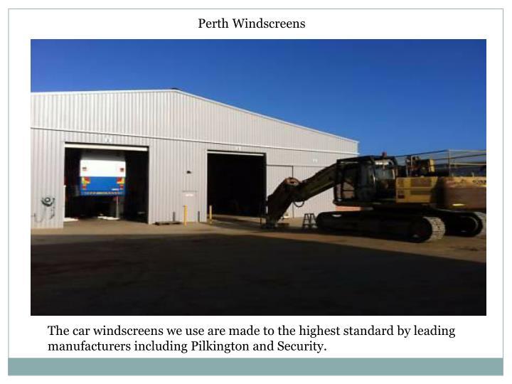 Perth Windscreens