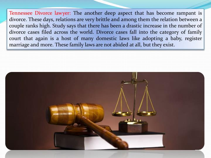 Tennessee Divorce lawyer: