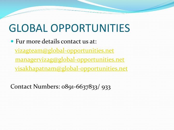 GLOBAL OPPORTUNITIES