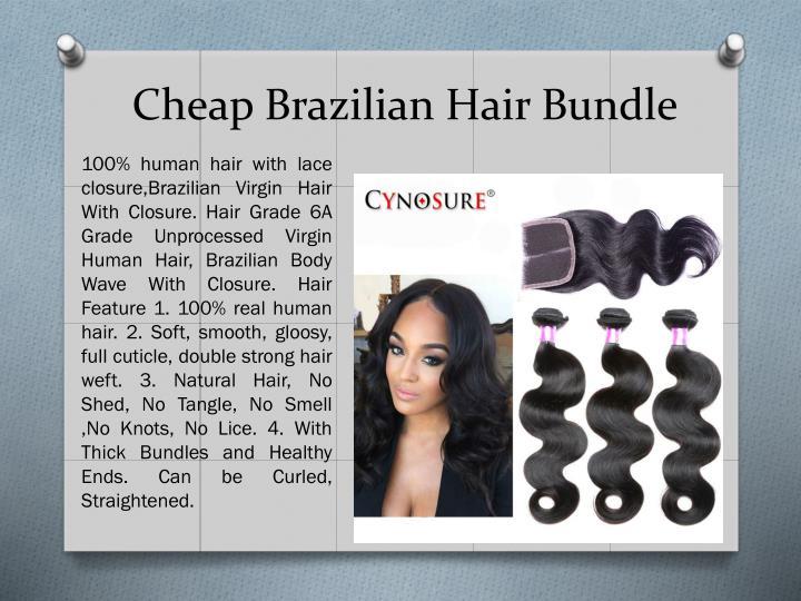 Cheap brazilian hair bundle