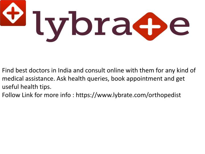 Find best doctors in India and consult online with them for any kind of medical assistance. Ask heal...