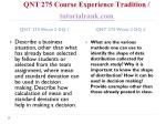 qnt 275 course experience tradition tutorialrank com4