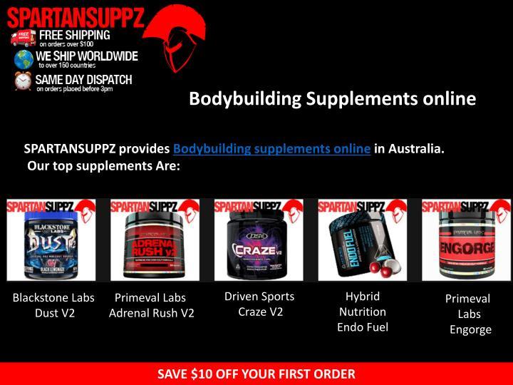 Bodybuilding Supplements online