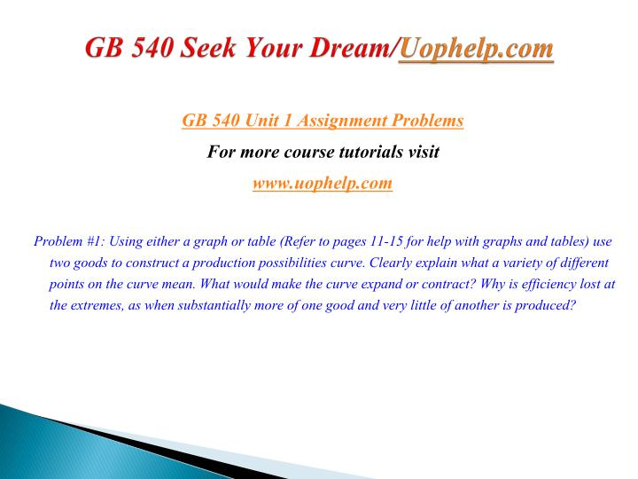Gb 540 seek your dream uophelp com2
