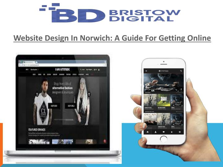 Website Design In Norwich: A Guide For Getting Online