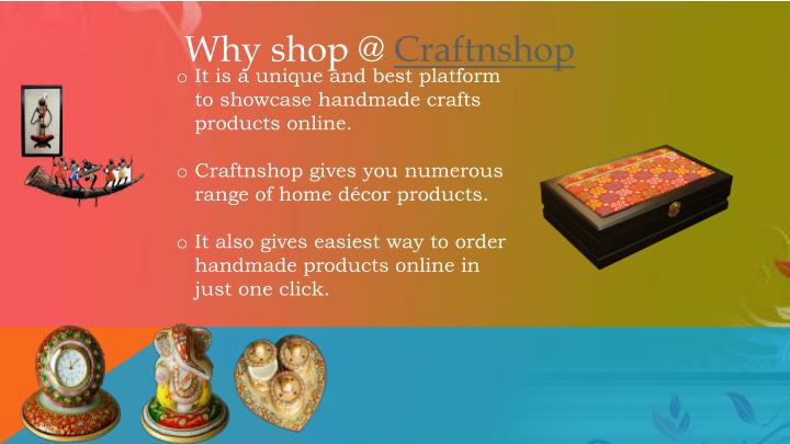 Why shop @