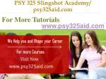 psy 325 slingshot academy psy325aid com9