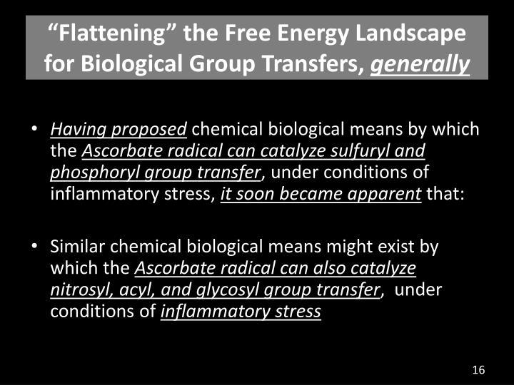 """Flattening"" the Free Energy Landscape"