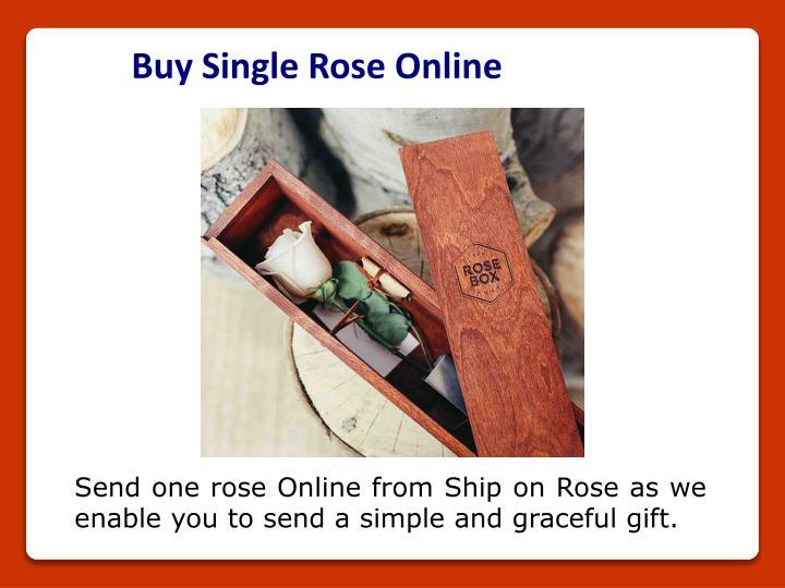 Buy Single Rose Online