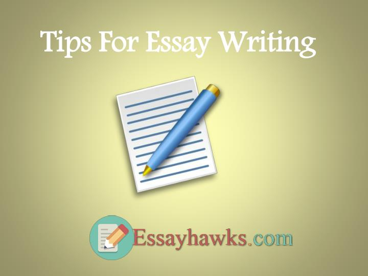 tip for essay writing