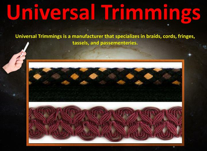 Universal trimmings1