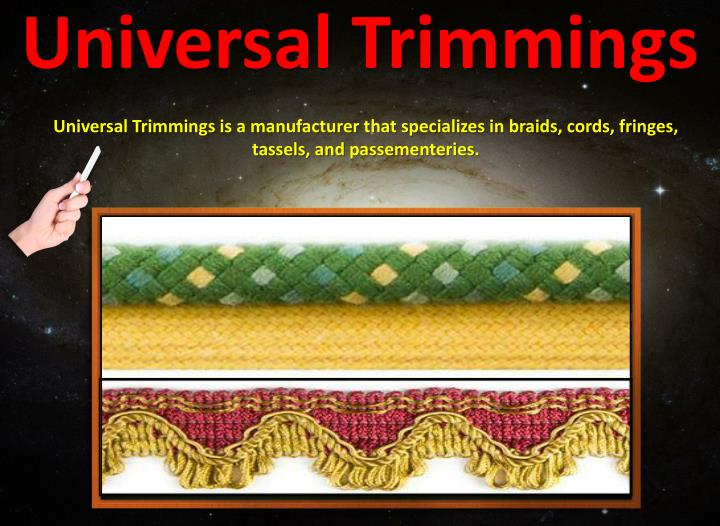 Universal trimmings2