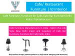 cafe restaurant furniture vj interior