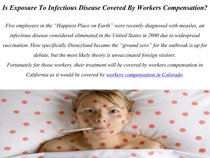 Is Exposure To Infectious Disease Covered By Workers Compensation?