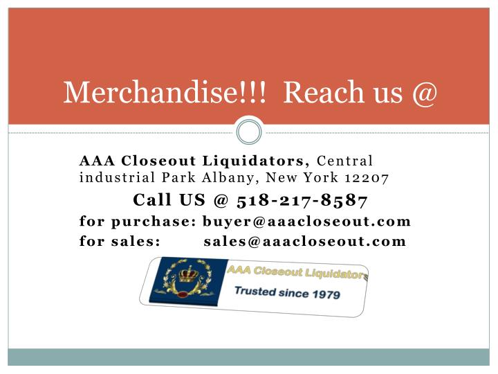 Merchandise!!!