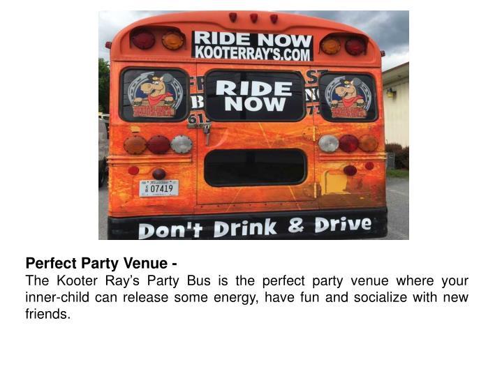 Perfect Party Venue -