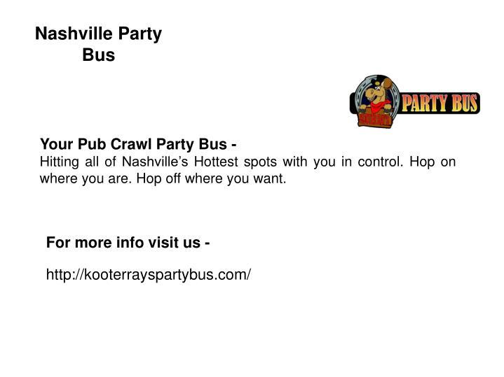 Nashville Party Bus