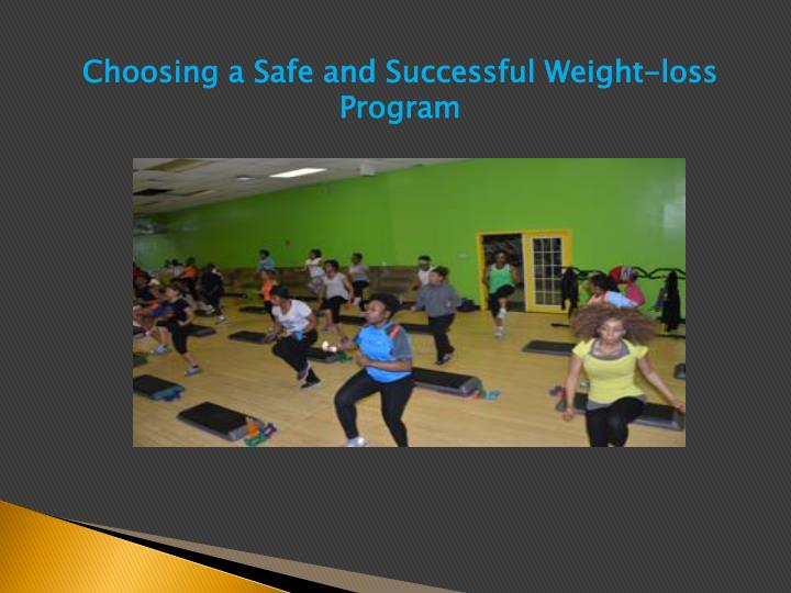 Choosing a Safe and Successful Weight-loss Program