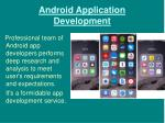 android application development1