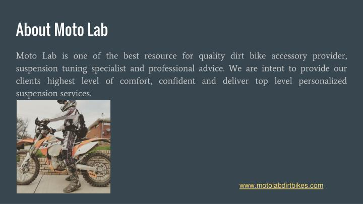 About moto lab