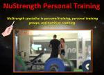 nustrength personal training4
