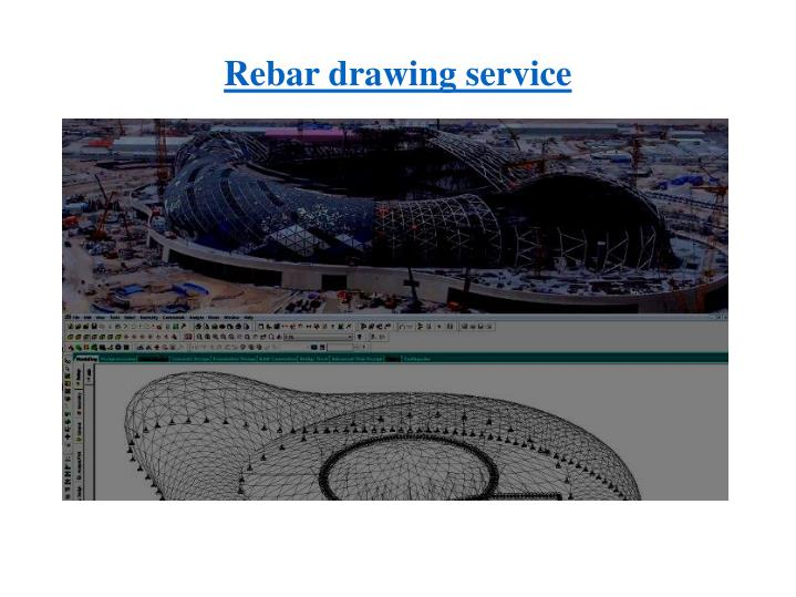 Rebar drawing service