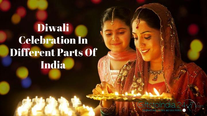 diwali celebration in different parts of india n.