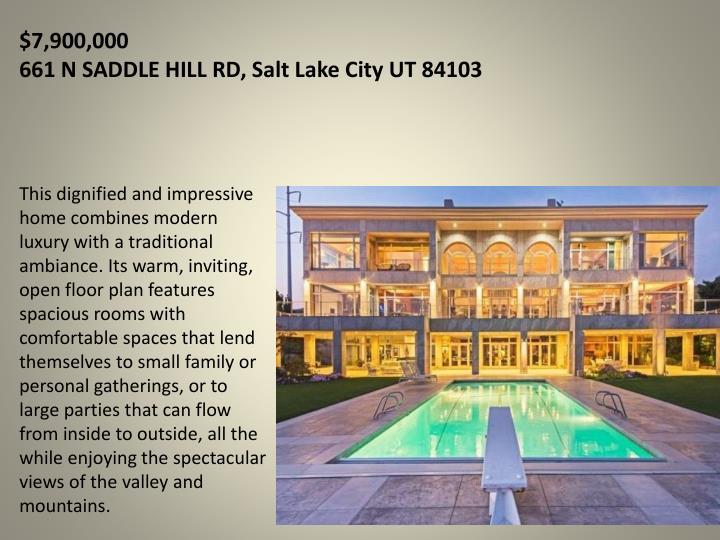 7 900 000 661 n saddle hill rd salt lake city ut 84103