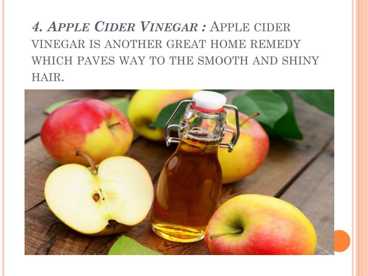 4. Apple Cider Vinegar