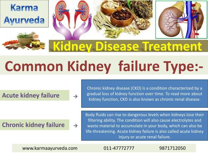 Kidney disease treatment2