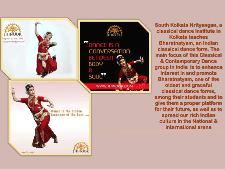South Kolkata Nrityangan, a classical dance institute in Kolkata teaches Bharatnatyam, an Indian cla...