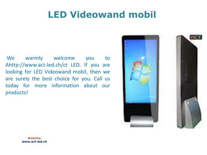 LED Videowand mobil