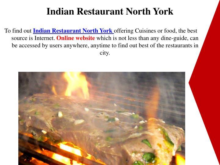 Indian Restaurant North York