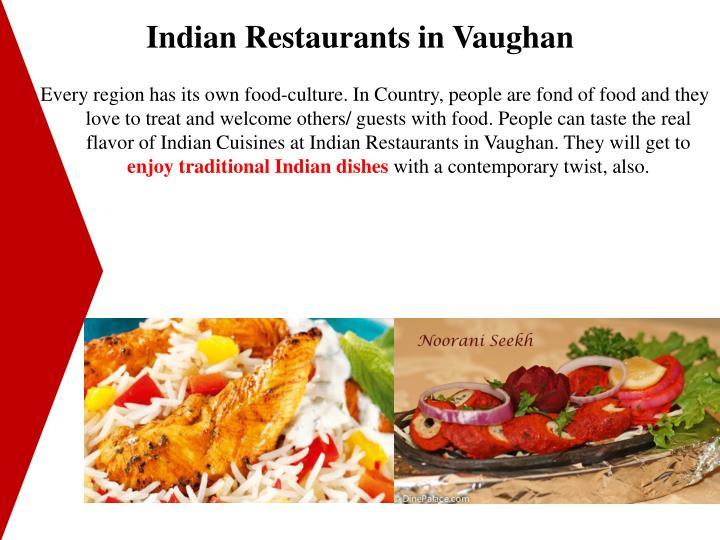 Indian Restaurants in Vaughan