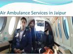 air ambulance services in jaipur