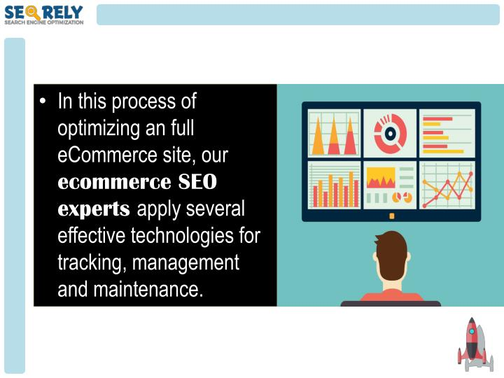 In this process of optimizing an full eCommerce site, our
