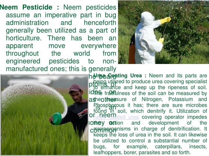 Neem Pesticide :