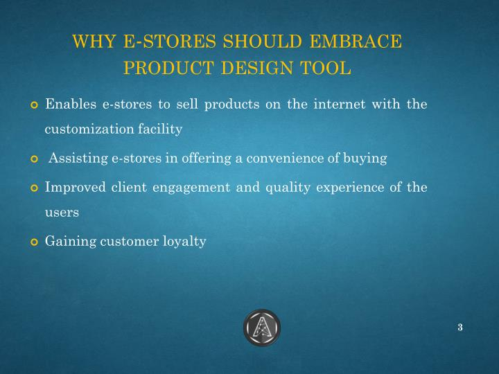 Why e stores should embrace product design tool