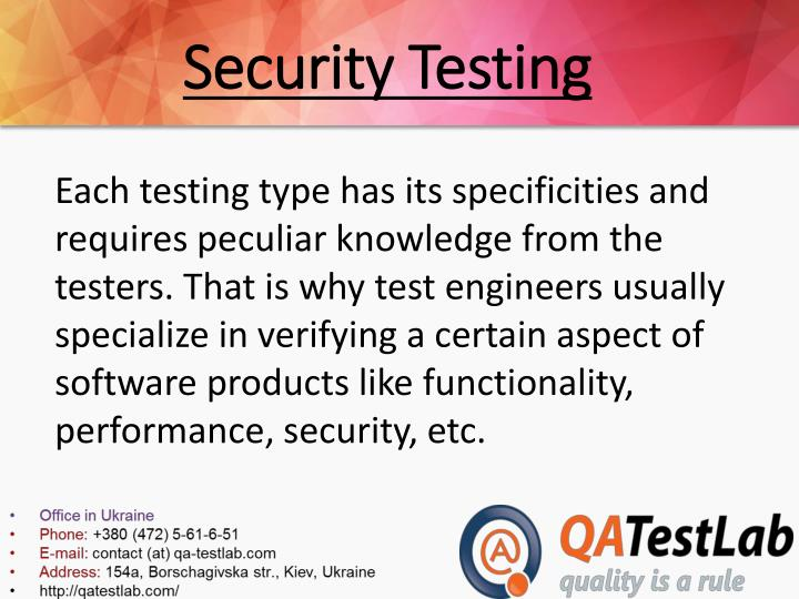Security testing1