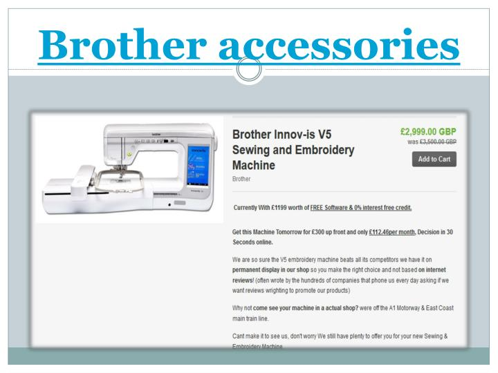 Brother accessories