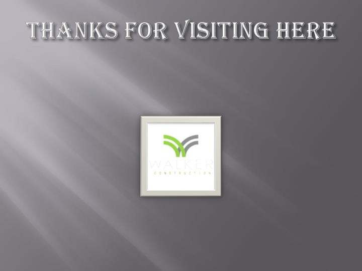 THANKS FOR VISITING HERE