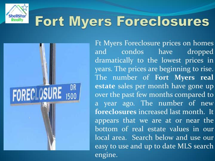 Fort Myers Foreclosures