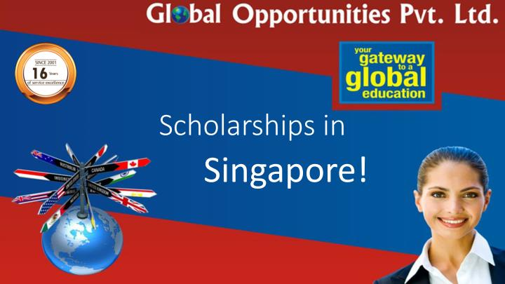 Scholarships in