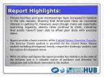 report highlights