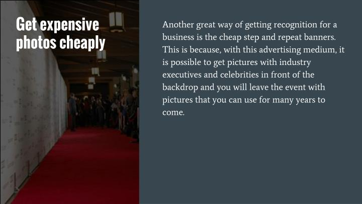 Get expensive photos cheaply