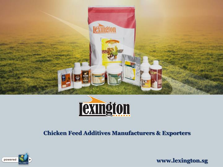 Chicken Feed Additives Manufacturers & Exporters
